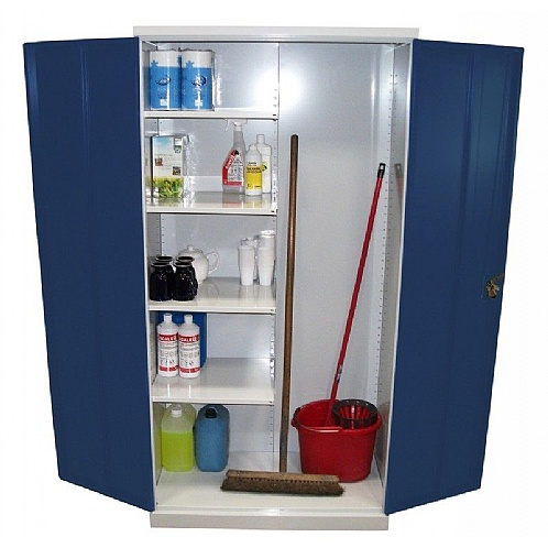 Janitors Cleaners Cupboard - Cupboards & Cabinets