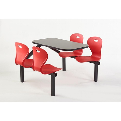 Lotus Canteen Furniture Seating Fast Food Diner Restaurant Units - Canteen Furniture