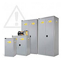 COSSH general safety cabinets with sump tray