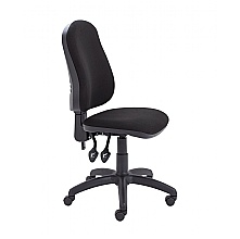 Black High Back 2 Lever Operators Chair