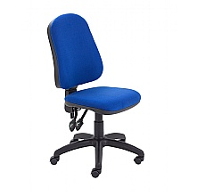 Royal Blue High Back 2 Lever Operators Chair