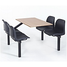 Eco 4 Seater Canteen Seating units